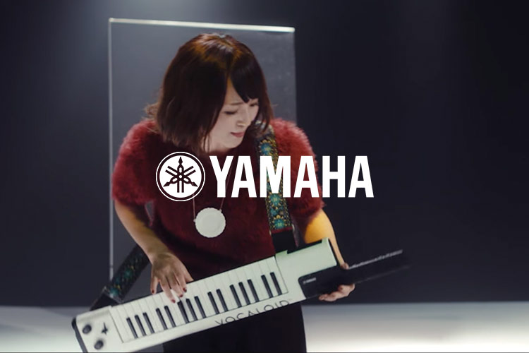 YAMAHA VOCALOID KEYBOARD<br /> WEB PR MOVIE