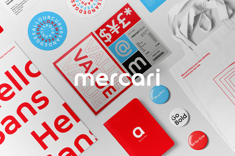 MERCARI SANS ANIMATION <br />